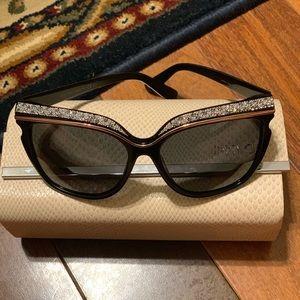 Jimmy Choi Sophia sunglasses in black